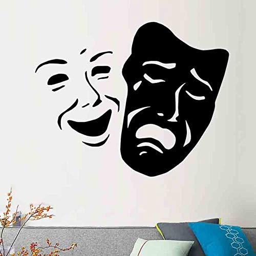 Wandaufkleber Kreative Neue Gesicht Ändern Kopf Schlafzimmer Wohnzimmer Dekoration PC Abnehmbare - Gesicht Spritz