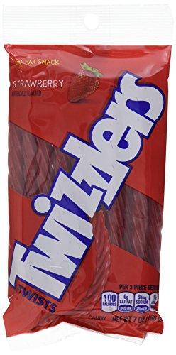 Hersheys Twizzlers Erdbeere, 3er Pack  (3 x 198g )