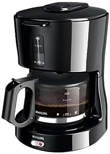 Philips HD7450/20 Kaffeemaschine Basic 6 Tassen, schwarz