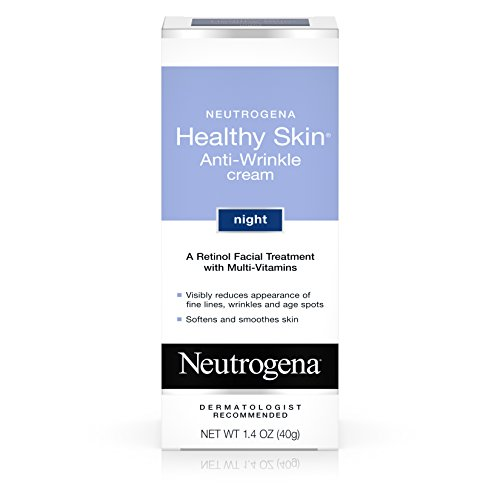Neutrogena Gesunde Haut Anti-Falten Creme Nacht mit Retinol, 1.4oz