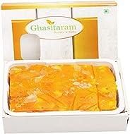 Ghasitaram Gifts Diwali Gifts Diwali Sweets - Orange Ice Halwa (200 GMS)