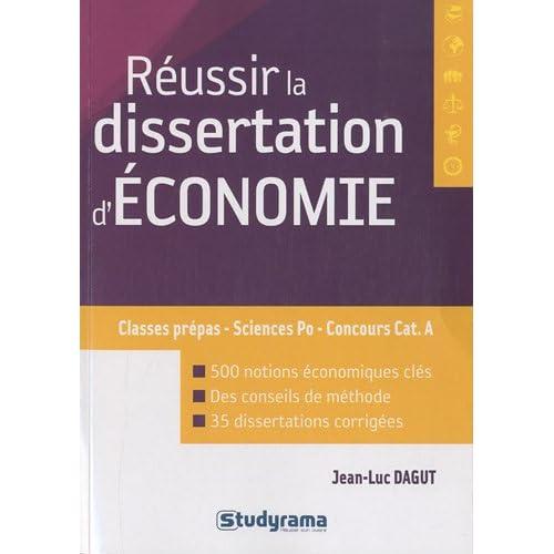 Réussir la dissertation d'économie