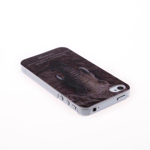iPhone Case Cover IPhone 4S, Hard Case Animaux Motif Series de protection couleur pour iPhone 4S ( Color : 18 ) 17