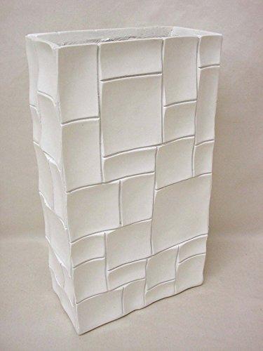 jarron-florero-bloques-polystone-fibra-de-vidrio-blanco-mediano