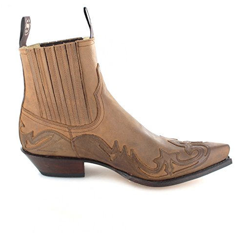 Sendra Boots 4660, Stivali western uomo Beige (Tang)