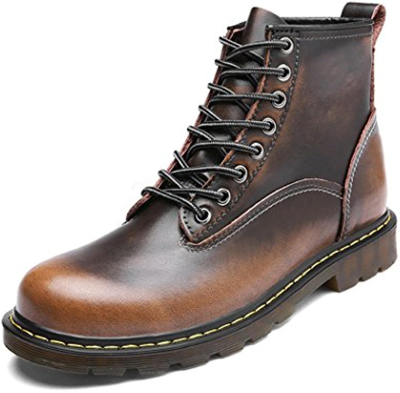 ZQ@QXUomo in pelle per tempo libero outdoor outdoor outdoor ladies Stivali Stivali di Martin,Bronzo scarpe singole,38 | Una Grande Varietà Di Prodotti  | Uomo/Donne Scarpa  f2f605