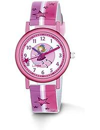 Prinzessin Lillifee Mädchen-Armbanduhr Analog Quarz Kunstleder 2013204