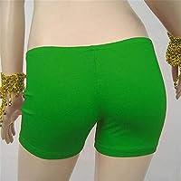 NIUHAIQING Rock Pantalones cortos de seguridad, medias, pantalones cortos, ropa interior sin costuras, para danza del vientre femenina, como en la imagen