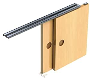 Sliding Door Gear Track System Diy Kit Set Hush Wardrobe