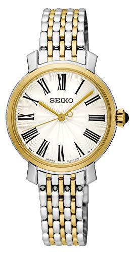 Seiko Analog White Dial Women's Watch - SRZ496P1