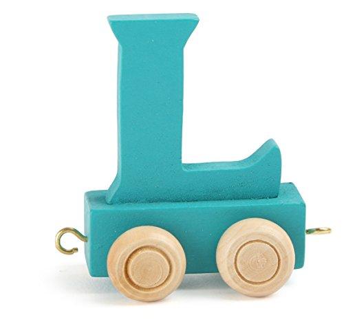 Baby Buchstabenzug Holzzug Buchstaben Eisenbahn Geburtstagszug Holz Namen Zug ABC neu
