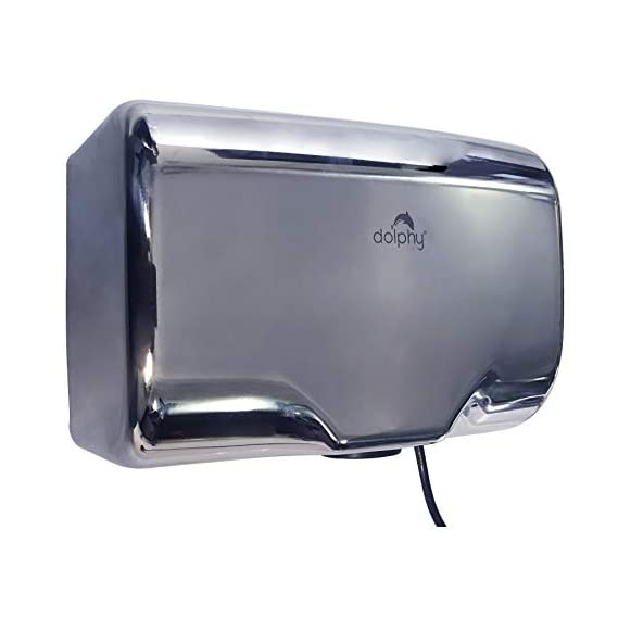 Dolphy 304 Stainless Steel Automatic Jet Hand Dryer