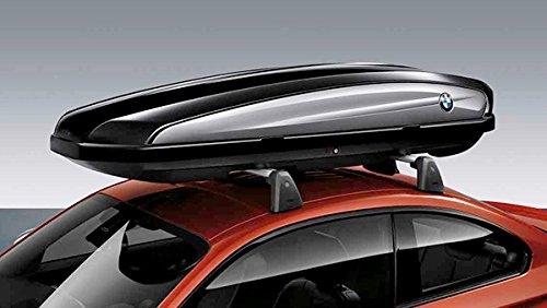 Original BMW Dachbox Skibox 420 Liter - mittlere Größe schwarz