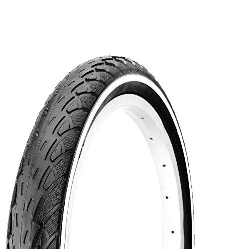 Deli v715400d Fahrradreifen, schwarz, 26x 1,75 schwarz schwarz 26 x 1,75