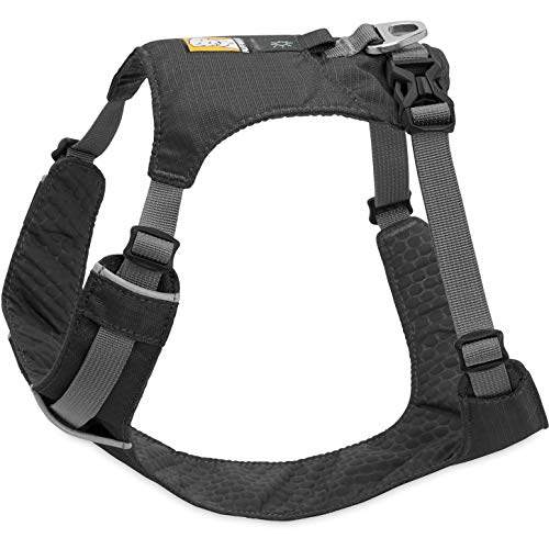 Ruffwear Leichtgewicht-Hundegeschirr, Große bis sehr große Hunderassen, Größenverstellbar, Größe: L/XL, Grau (Twilight Grey), Hi & Light Harness, 3082-025LL1 -