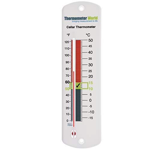 Termometro da cantina per vino e birra–ideale per il monitorare la temperatura di birra o vino
