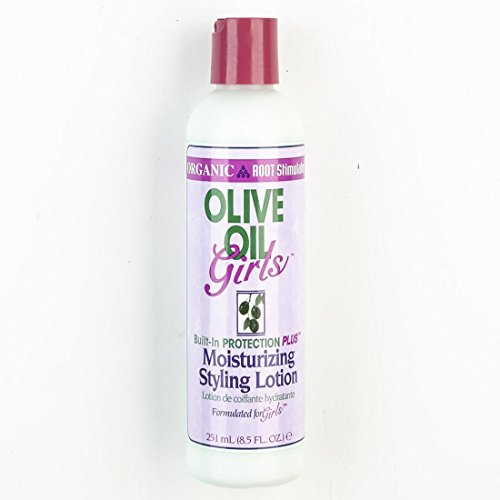 ORS Organic Root Stimulator Huile d'olive Girls Moist Moisturizing Lotion de coiffage 8.5oz 281 ml
