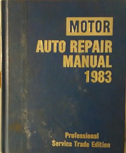 Auto Repair Manual: 1983 por Michael Kromida