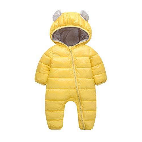 Amlaiworld Monos bebé Otoño Invierno, Recién Nacido Bebés niños niñas niños Mamelucos Invierno algodón Grueso Ropa de Abrigo Caliente Mono Chaqueta Gruesa