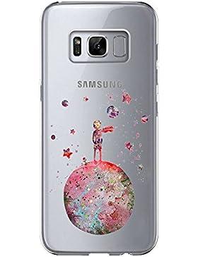 Samsung Galaxy S8Custodia, [Liquid Crystal] Soft FLEX silicone [Crystal Clear] trasparente ultra sottile slim...