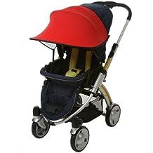 [manito] New azul y verde/sombrilla para carrito de bebé, bolsa de