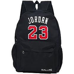 Salute JORDAN 14 Ltrs Black Casual Bag