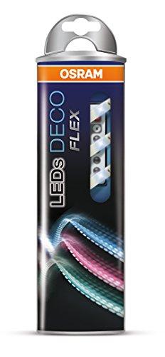 OSRAM flexible LED-Streifen 1 Meter Länge Deco Flex Starter-Set / selbstklebend / dimmbar / für farbige und weiße Lichtakzente / Farbsteuerung RGB - 4