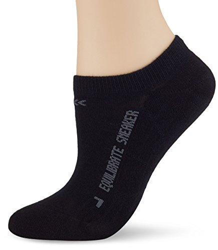 X-Socks Equilibrate Sneaker Strümpfe, Schwarz, 43-44