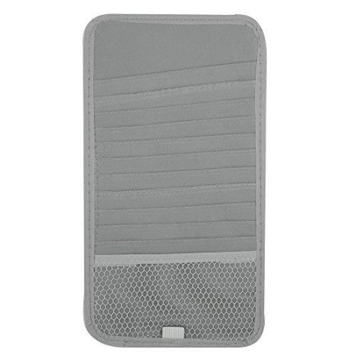 cket-Karten-Halter-Speicher-Fall grau für Auto (Nur Das Ticket Dvd)