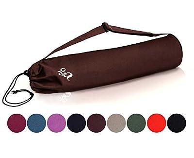 Yogatasche »DevalaÂ« von #DoYourYoga aus hochwertiger Baumwolle, aufwendig verarbeitet, für Yogamatten bis zu einer Größe von 180 x 62 x 0,6 cm, in verschiedenen Farben erhältlich.