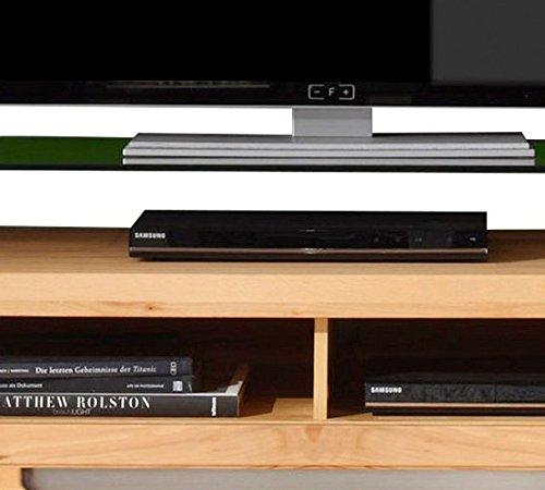 trendteam ZO31665 TV Möbel Lowboard, BxHxT 123 x 43 x 50 cm, Korpus Kernbuche Nachbildung und Fronten in Kernbuche massiv - 3