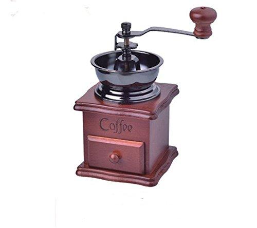 Zulux Jahrgang manuelle Kaffeemühle Keramik Konische Burr Tragbare Handkurbel Kaffee