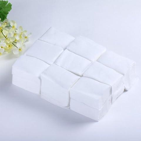 Yesurprise - 900 pièces Nail Art Conseils soins manucure Cleaner polonaise Remover Wipes Cotton Lint Pads Papier