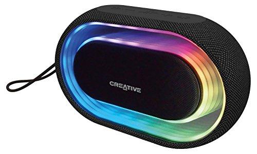 Creative Halo - Enceinte Bluetooth portable avec show lumineux programmable