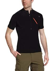 Millet Red Needles T-Shirt Zippé Manches Courtes Homme Noir FR : S (Taille Fabricant : S)