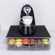 Coffee Capsule Holders,Coffee Pod Holder Dolce Gusto for Coffee Pod Storage Drawer for Nescafe Coffee Pod Hold