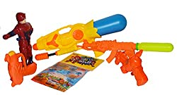 Toyzstation Water Guns Combo Pack with Balloons