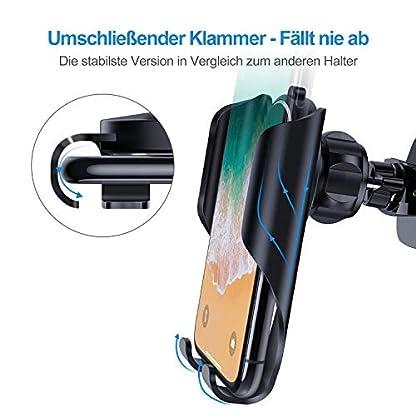 VANMASS-Handyhalter-frs-Auto-Handyhalterung-Lftung-mit-Automatischer-Speicherfunktion-Universal-Kfz-Smartphone-Halterung-Kompatibel-mit-XS-MaxXRX8-Samsung-S10S10S9S8Note9-Huawei-und-mehr