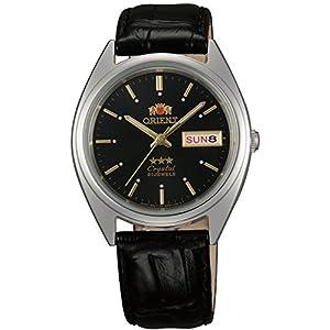 Orient Reloj Analógico para Unisex Adultos de Automático con Correa en Cuero FAB0000JB9