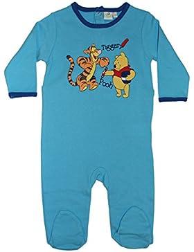 Disney Baby - Jungen Winnie the Pooh Langarm Strampler