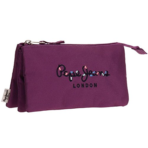Pepe Jeans Harlow Violet Carry All Three Compartments