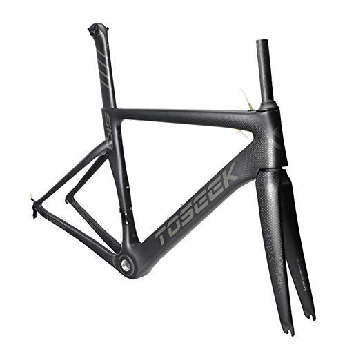 SXMXO Cuadro de Bicicleta de Carretera Aero Full Carbon Toray T800 Cuadro de Bicicleta de Carretera...