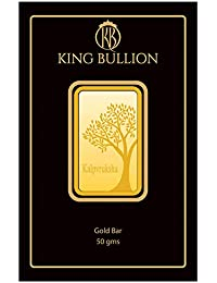 KING BULLION 50 gm, 24KT (999) Yellow Gold Bar