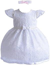 Cinda niñas bautismo / vestido de fiesta