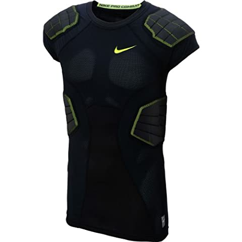 Nike Maillot de football américain Pro Hyperstrong 3.0 Compression 4-Pad (Large)