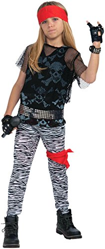 Rock Boy Kostüm Star - Forum Novelties Inc. 80s Rock Star Boy Kinder-Kostüm