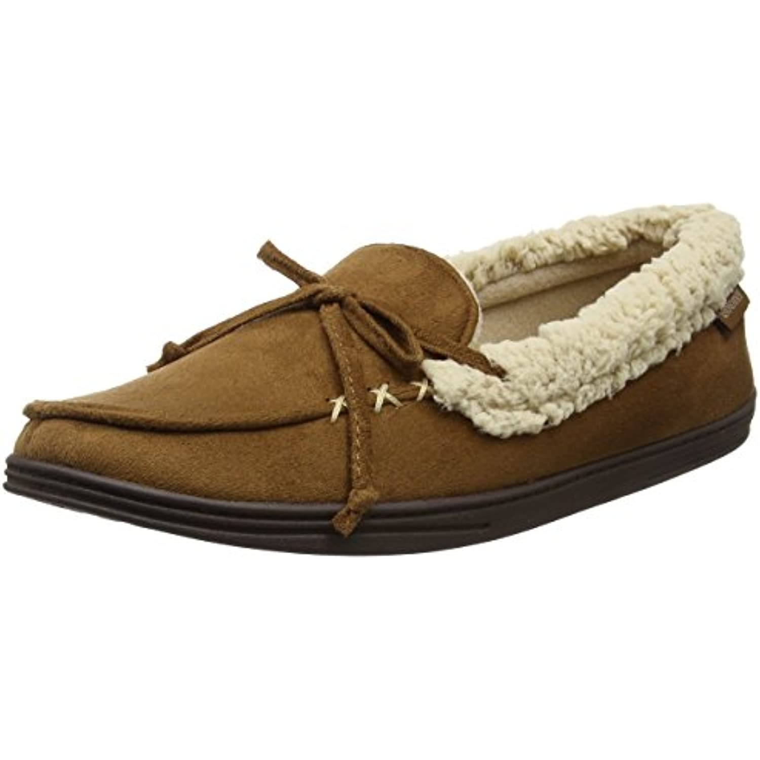 Isotoner Isotoner Isotoner Suedette Moccasin Slippers, Chaussons Homme - B06XZ714ST - b0fffb
