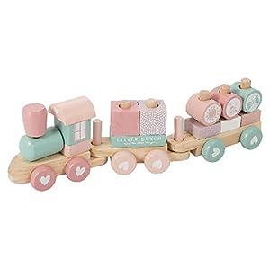 Little Dutch-LD4416 Tren, Madera, Multicolor (4416)