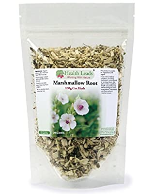 Marshmallow Root Cut 100g from Health Leads UK