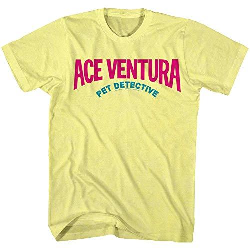 Ace Ventura T-Shirt für Erwachsene, Motiv Pet Detective Comedy, 1990er Jahre, Farben - - Groß (Pet Detective)